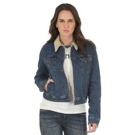 Wrangler Women's Wrangler Lined Denim Jacket (Reg $79.95 Now $20 OFF)