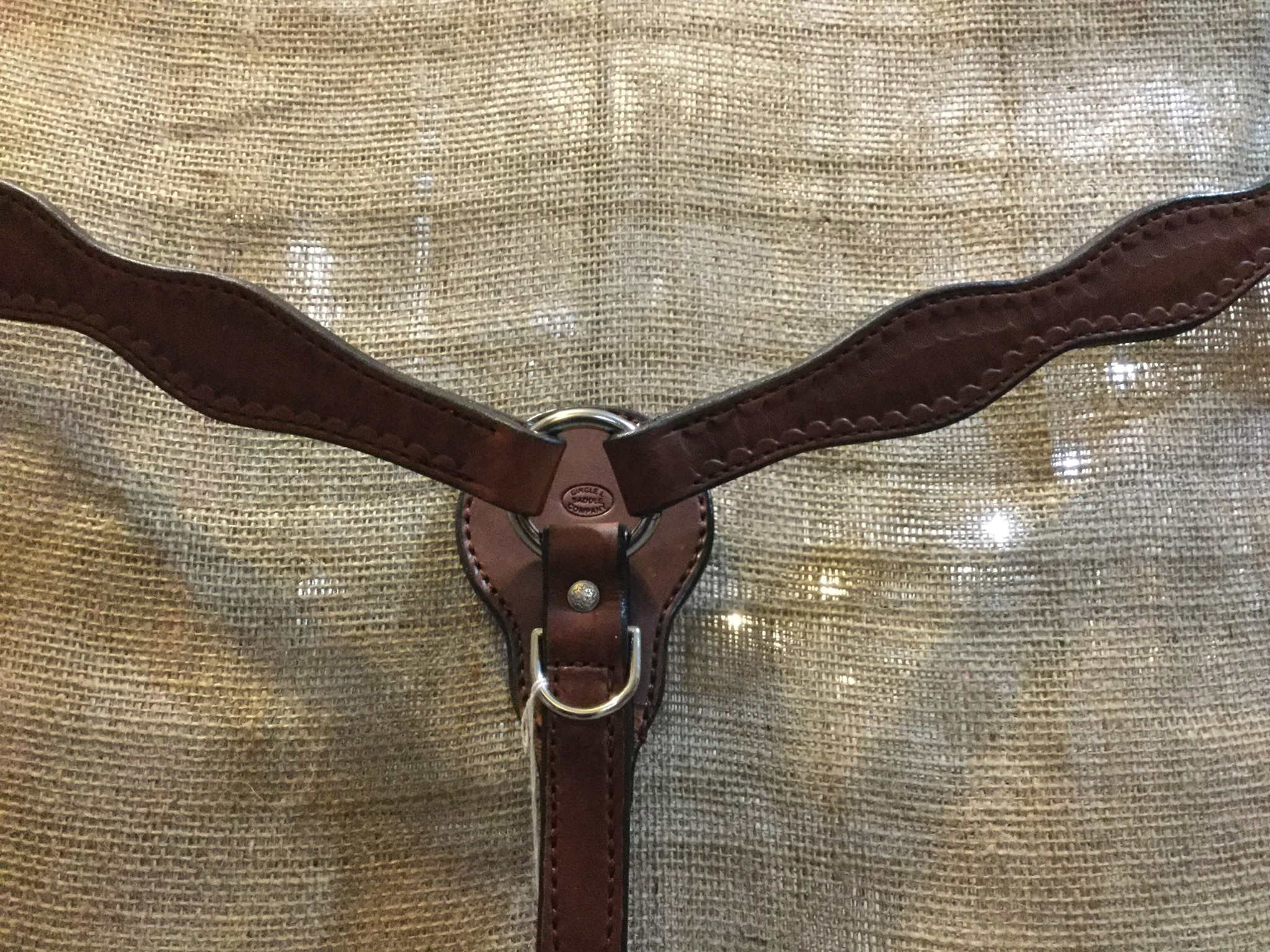 Circle L Circle L Scalloped Breast Collar - Horse Size