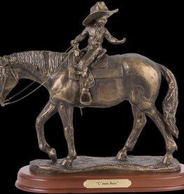 Montana Silversmiths Statue - C'mon Boys (Reg Price $90 now $79.95)