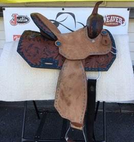 "14"" FQHB Wild Star Two-Toned Barrel Saddle - (Reg $725.95 now $100 OFF!)"