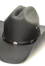 WEX Cattleman Straw Hat, Silver Conchos,