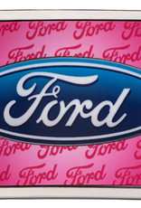 WEX Belt Buckle - Ford on Pink