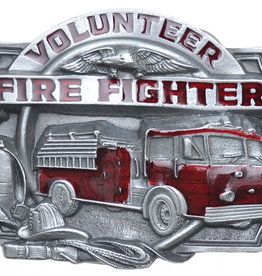 WEX Belt Buckle - Volunteer Fire Fighter