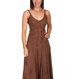 Scully Leather Women's Scully Honey Creek Cotton Dress - Copper