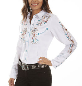 Scully Leather Women's Scully Dream Catcher Western Shirt