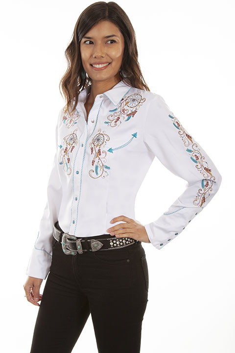 Scully Women's Scully Dream Catcher Western Shirt