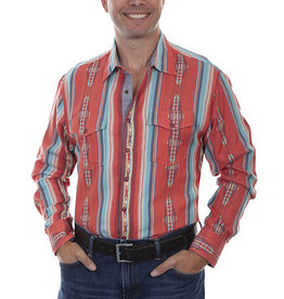 Scully Men's Scully Southwest Signature Western Shirt