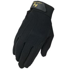 Heritage Heritage Cotton Grip Glove, Black