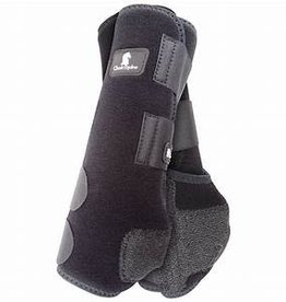 Classic Equine Legacy2 Protective Boots - Black, Tall, Hind