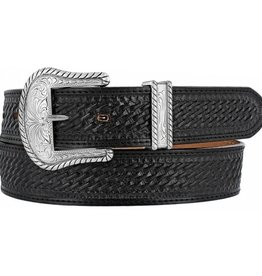 Justin Belts Adult - Justin Black Bronco Belt
