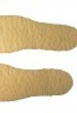 AGS Footwear Fleece Insole Natural OS