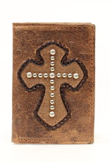 Nocona Wallet - Tri Fold with Cross