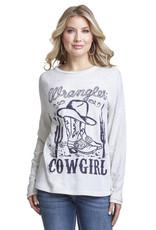 Wrangler Women's Wrangler L/S Graphic Sweatshirt