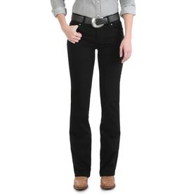 Wrangler Wrangler Black Mid-Rise Boot Cut Jeans