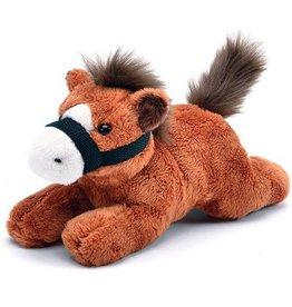 "Plush Resting Horse - 8"""