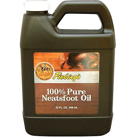 Fiebings Neatsfoot Oil 100% Pure - 32oz