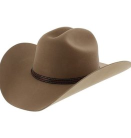 Justin Western Justin Gallop 2X Felt Hat - 7 1/4 Fawn