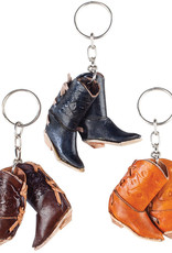 Key Chain - Pair of Leather Boots