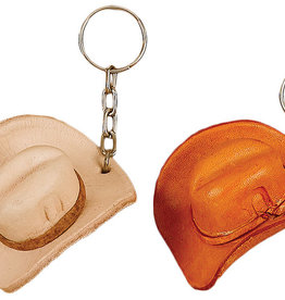Key Chain - Leather Hat