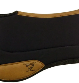 "Diamond Wool Contoured Endurance Ranch Pad - 1""  33""x30"""