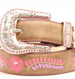 Nocona Children's Nocona Embroidered Floral Belt