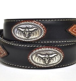 Nocona Children's Nocona Steerhead Concho Belt