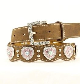 Nocona Children's Nocona Scallop Heart Belt