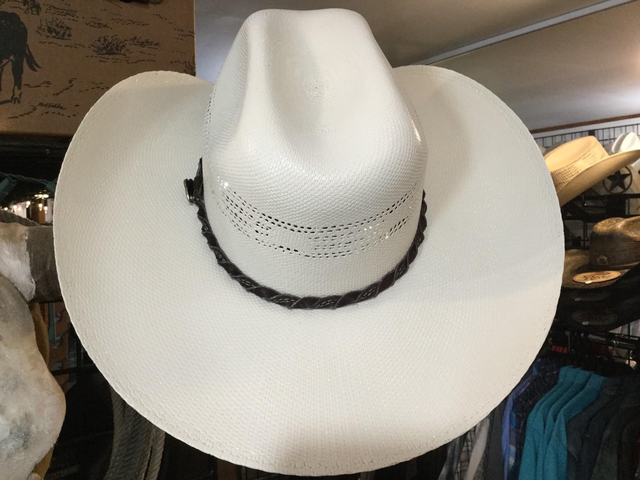 Justin Western Hats Justin 20X Brush Creek Straw Hat