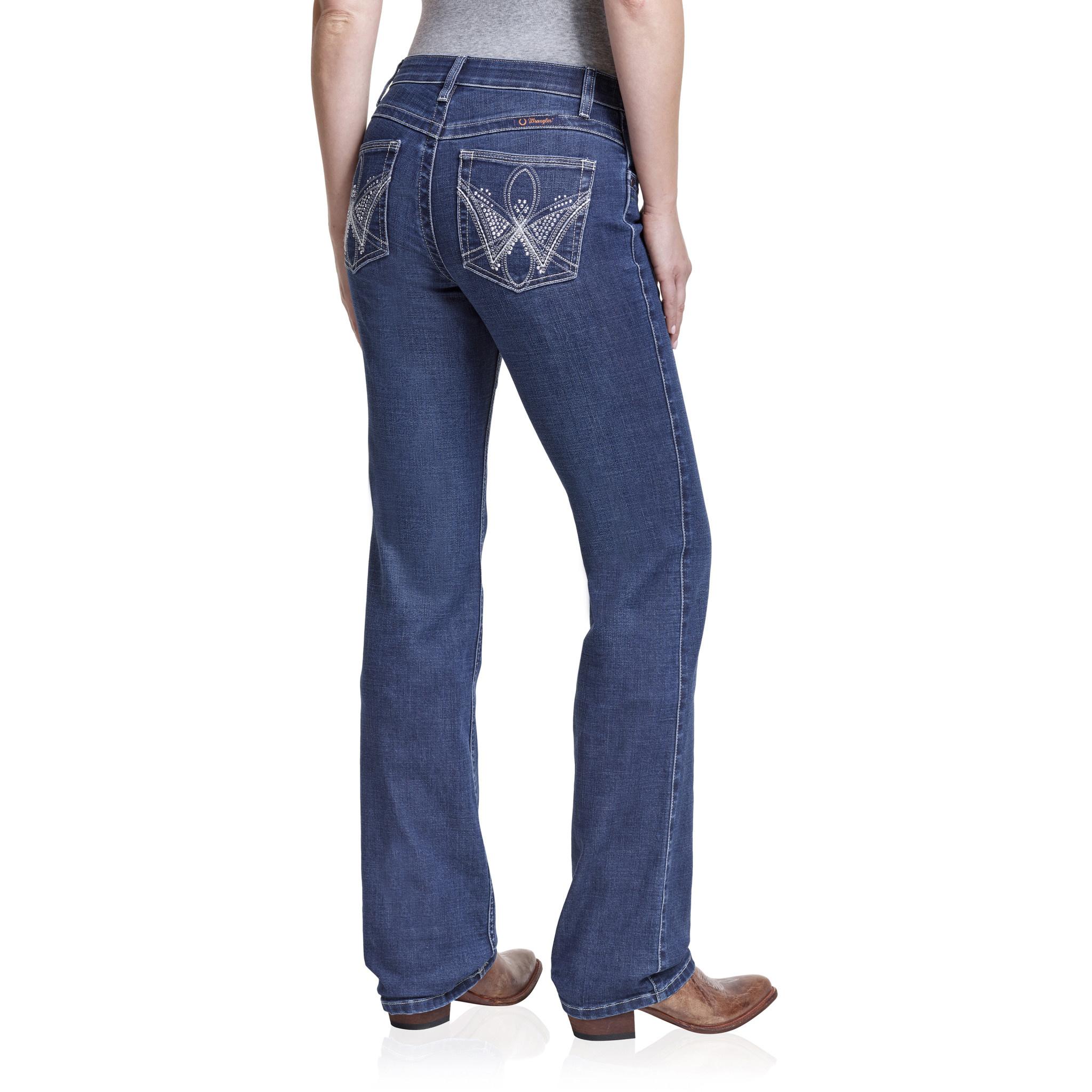 Wrangler Women's Wrangler Q-Baby Boot Cut Jeans