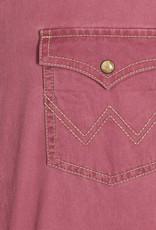 Wrangler Men's Wrangler Retro Burgandy Western Shirt