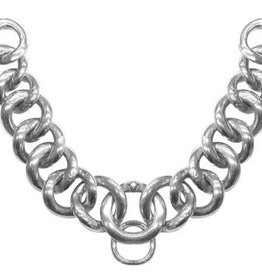"""Showman Curb Chain - Stainless Steel Flat Link, 9"""""""