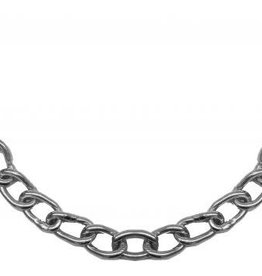Showman Stainless Steel Bit Chain (curb chain) with Barrel Connectors