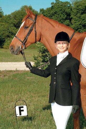 Devon-Aire Coat - Nouvelle Dressage Jacket, Black - 12 (Reg $124.95 - Now $60!)