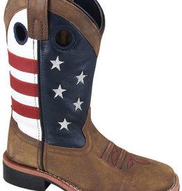 Smoky Mt Youth Smoky Mountain Stars & Stripes Western Boots