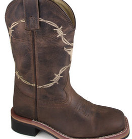 Smoky Mt Children's Smoky Logan Leather Cowboy Boot