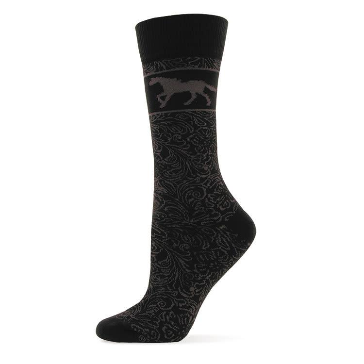 GT Reid Adult Socks - Horse Silhouette