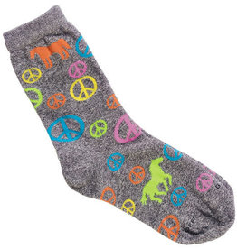 GT Reid Adult Socks - Peace Sign