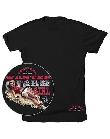 "Farm Boy Men's Farm Boy ""Wanted"" T-Shirt (Reg $24.95 now 50% OFF!)"
