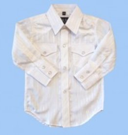White Horse Children's White Horse Tone Western Shirt