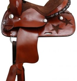 "Showman 12"" PONY BAR Showman Pony Saddle"