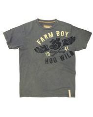Farm Boy Men's Farm Boy Hog Wild T-Shirt (Reg $24.95 now 50% OFF!)