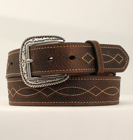 Adult - Boot-Stitch Leather Belt