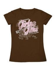 Farm Girl Farm Girl Girls & Guns T-Shirt (Reg $18.95 now 50% OFF!)