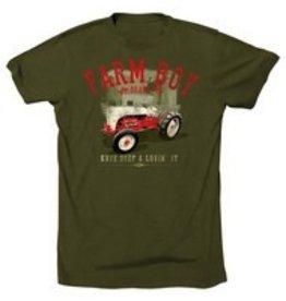 Farm Boy Farm Boy Vintage Tractor T-Shirt