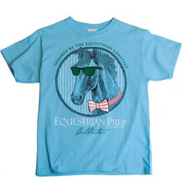 Stirrups Stirrups Preppy Clothes Horse T-Shirt Blue XL