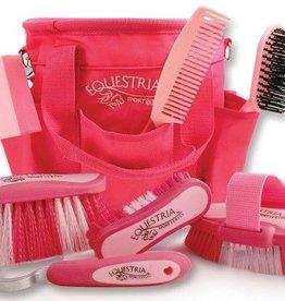 GT Reid Equestria Grooming Kit, Pink - 8 Piece