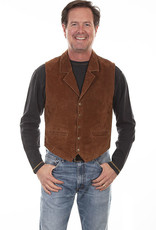 Scully Men's Scully Boar Suede Vest - Cinnamon