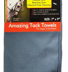"ECP Amazing Tack Towels Dusty Blue 7""x9"