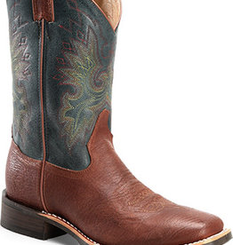 Double-H Boots Men's Double-H Teal/Blue Arizona Western Boots (Reg $169.95 - 20% Disc)