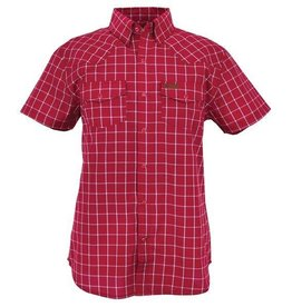 Outback Men's Outback Chandler Performance Shirt - Red Plaid (Reg $39.95 now $10 OFF!)